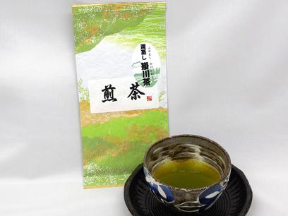 製法にこだわって作ったカネス自慢のお茶です