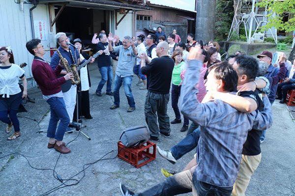 【本日開催】祝10周年「飛鶴」酒蔵ライヴ 森酒造 4月29日(祝)