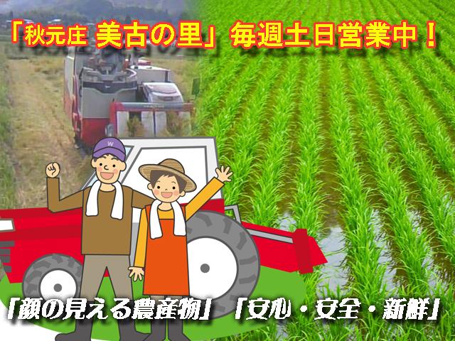 顔の見える農産物、有機栽培・エコ農産畑にこだわった『美古の里』