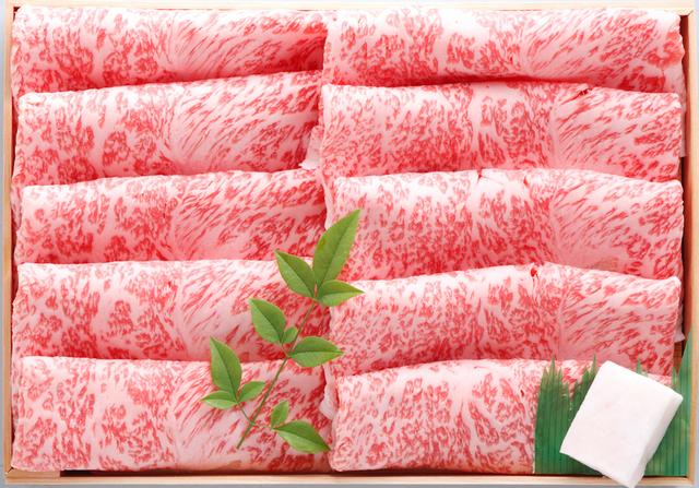 千葉県産銘柄牛かずさ和牛、A5のリブロースですき焼き!