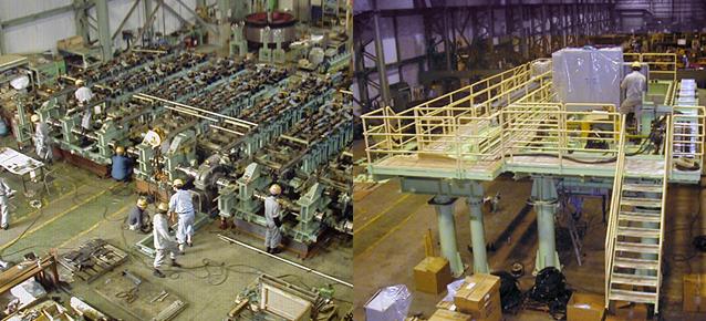 鋼管製造ライン作業の募集