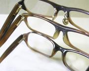 かけ心地が違う天然素材の眼鏡フレーム