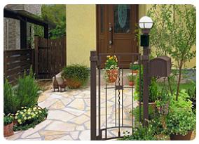 玄関アプローチを変えるとお家の雰囲気も変わります