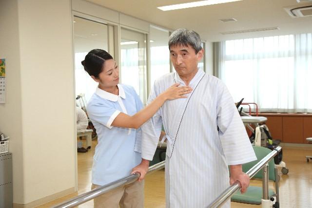 身体機能の向上を目指し、より安定した入院生活を援助します。