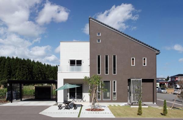 ☆*:.。. リフォームから新築へと気持ちを変えたシンプルモダンな家 .。.:*☆
