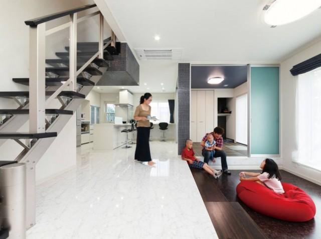 ☆*:.。. 施工事例|家事ラクも子育てもデザインも。5人家族が叶えた理想のマイホーム。.。.:*☆