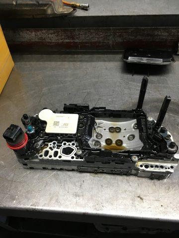 メルセデスベンツ Aクラス W169 トランスミッション警告灯  修理
