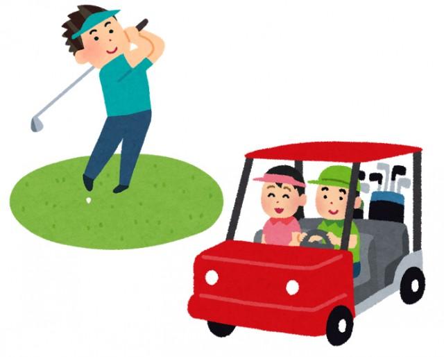 ゴルフプレー中のさまざまなリスクを補償します