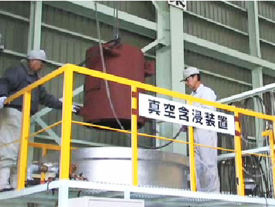 さまざまな工場で活躍する電動機のメンテナンス承ります。