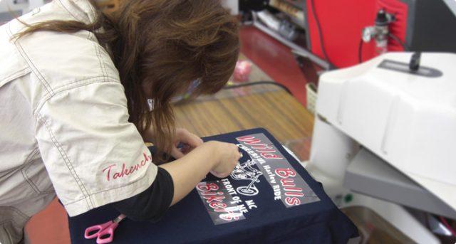 オリジナルTシャツを作るなら竹内商店!