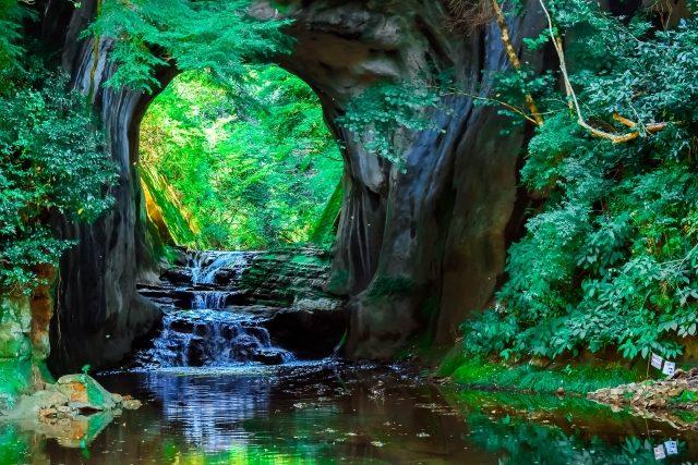 """夏休みレジャーに♪君津市の""""濃溝の滝""""近くにあるレストラン。"""