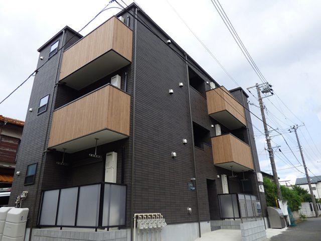 新築木造3階建てアパート【クレア船橋】完成!