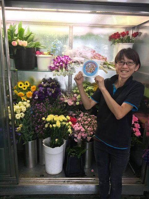 地域をお花で盛り上げます!