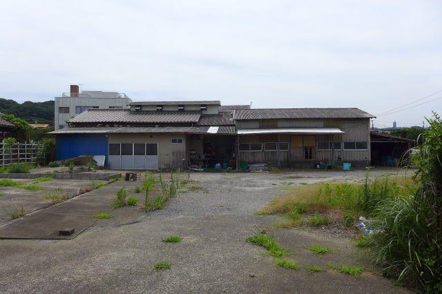 漁業倉庫付土地 252坪
