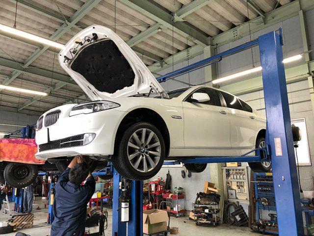 BMW 535i (F10) オーバーヒート・オイル漏れ修理
