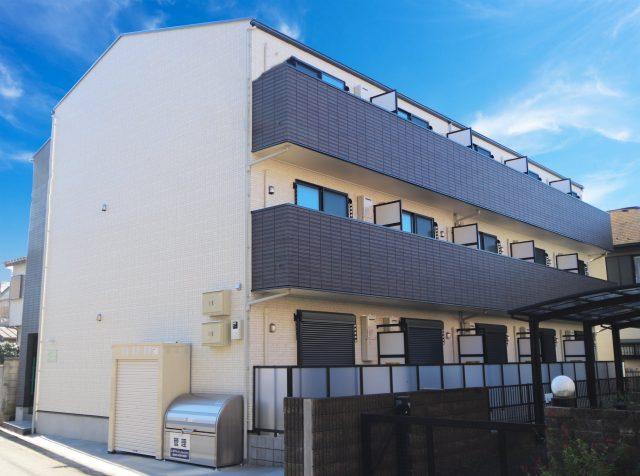 新築木造3階建てアパート『AJ柏WestⅢ』が完成!