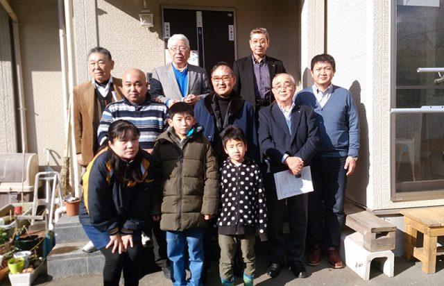 富津シティロータリークラブ会員として東日本大震災被災地を訪問しました