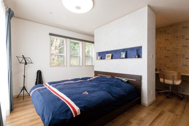 ライフスタイルに合わせた快適空間― 主寝室・子供部屋 ―
