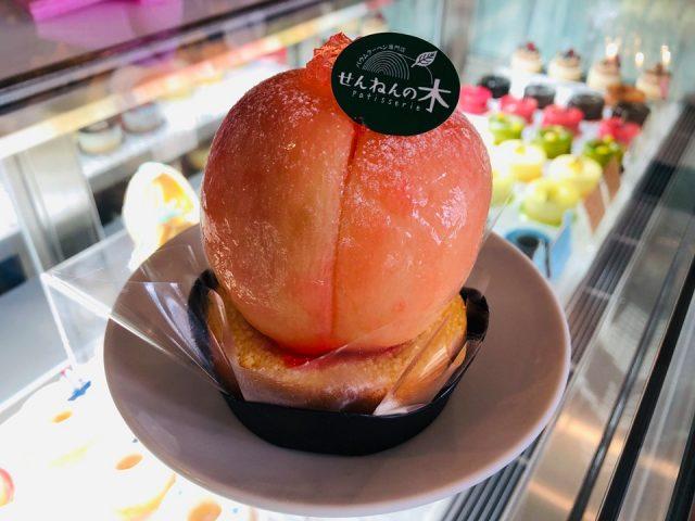 旬の時期だけに登場するスペシャルバウムケーキ!