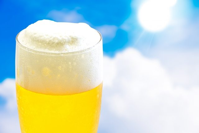 夏真っ盛り!ビールの美味しい季節がやってきましたね!