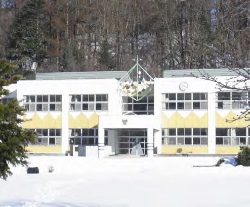 北海道平取町廃校