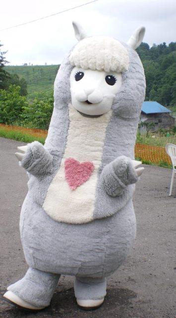 北海道剣淵町キャンペーンガール「ぷっちーな」
