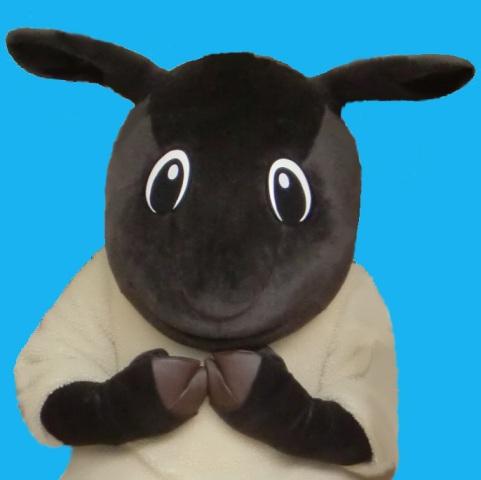 北海道士別市キャラクター「羊田黒助(ひつじだくろすけ)」