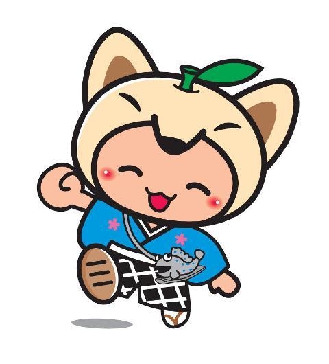 佐賀県鹿島市イメージキャラクター「かし丸くん」