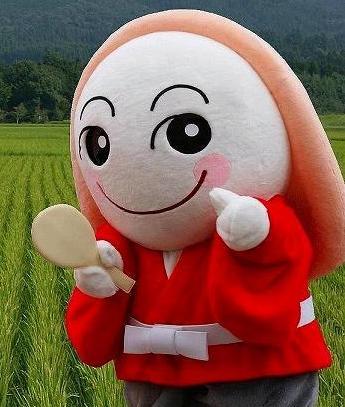 宮崎県えびの市マスコットキャラクター「みなほ」