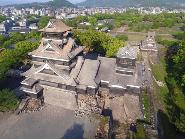 熊本城の災害復旧支援の寄付を募集しています