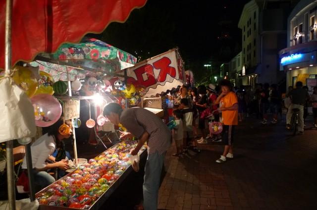 7月は毎週土曜日開催、田原の夜店へ♪