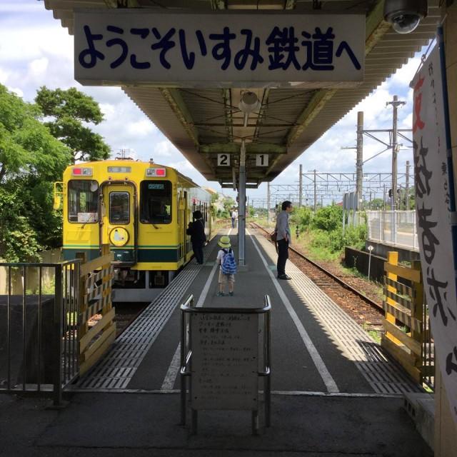 いすみ鉄道・ムーミン列車