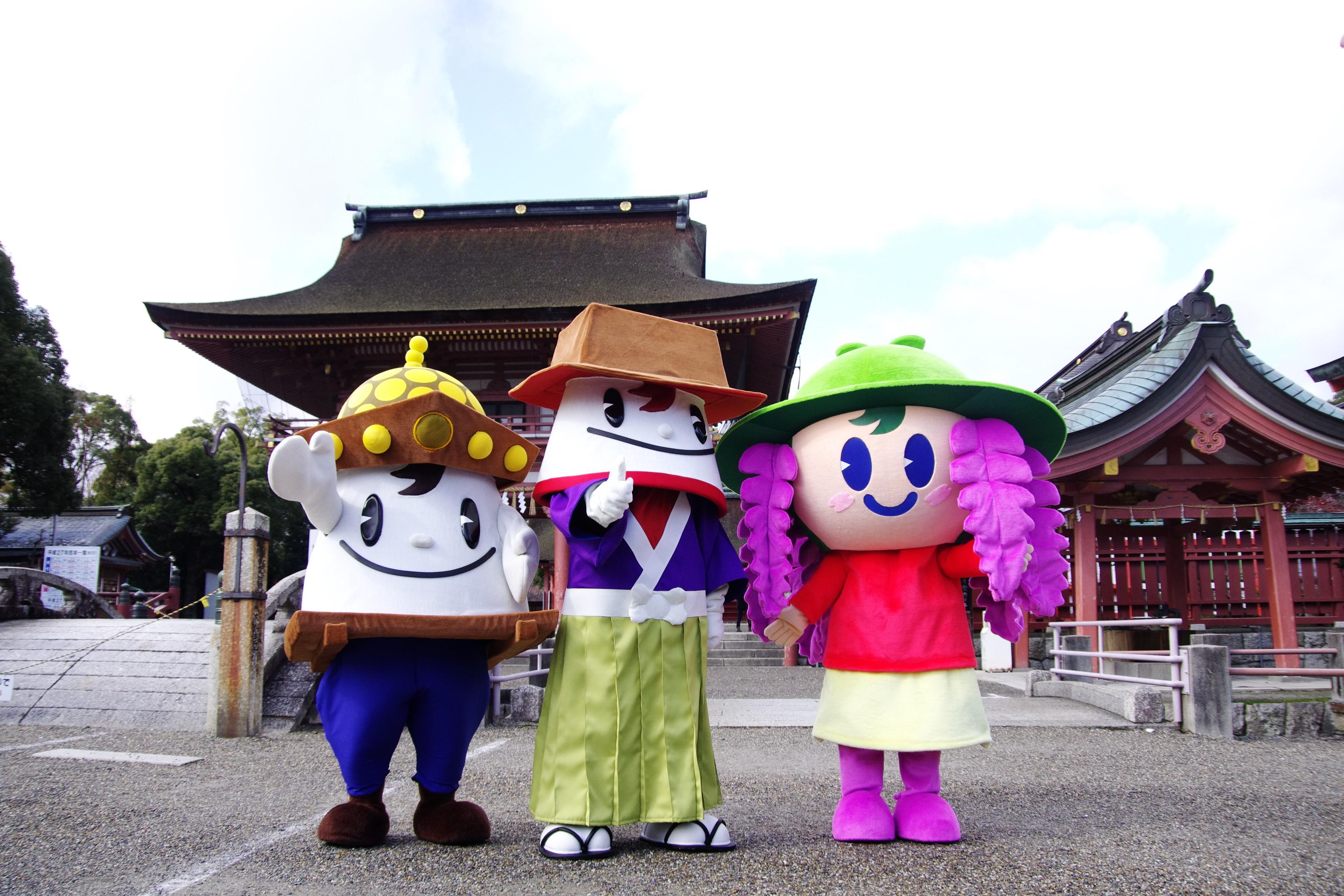 津島市公式キャラクター
