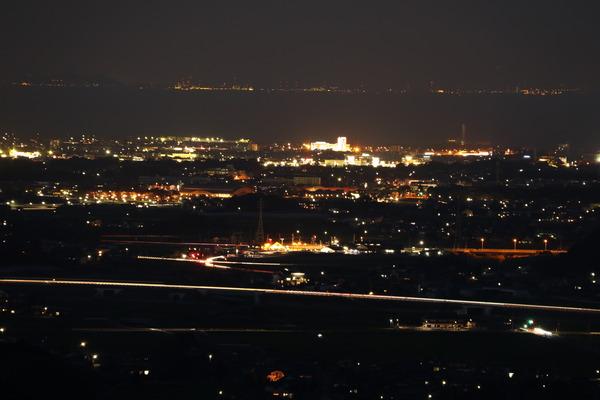 八面山夜景