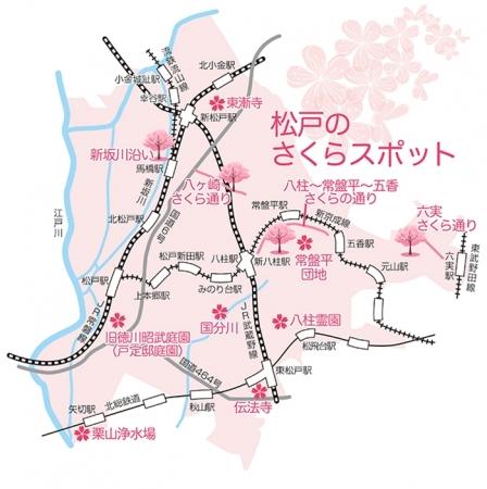 今年のお花見は松戸に行こう!『さくらの街』松戸のお花見スポット、桜まつりを一挙紹介