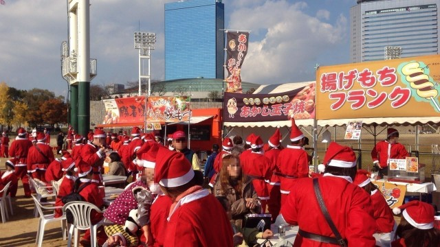 イルミ・秋冬イベント特集☆「グルメサミット」×「グレートサンタラン」開催
