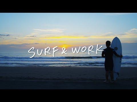 SURF&WORK ~新しい働き方、はじまります。~ 千葉県一宮町「サーフィンと生きる町」PR動画