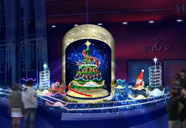 HEP FIVEの「CHRISTMAS FANTASY」