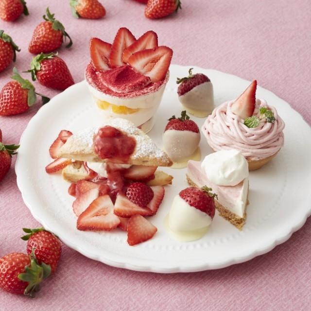 新春・イルミ特集☆「いちごの日」は苺が3倍!「Happy Strawberry's Day!」