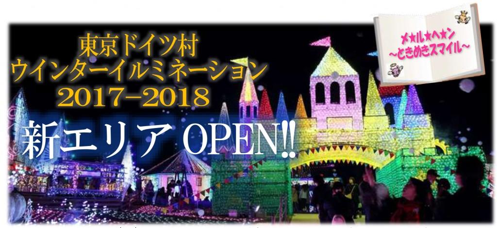 新春・イルミ特集☆東京ドイツ村「イルミネーション新エリアがオープン!」