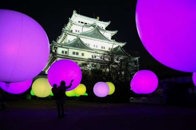 新春・イルミ特集☆「名古屋城冬まつり」「浮遊する、呼応する球体」
