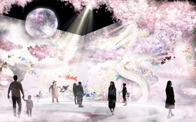新春・イルミ特集☆日本一早いお花見を日本橋で「FLOWERS 2018 輪舞曲」