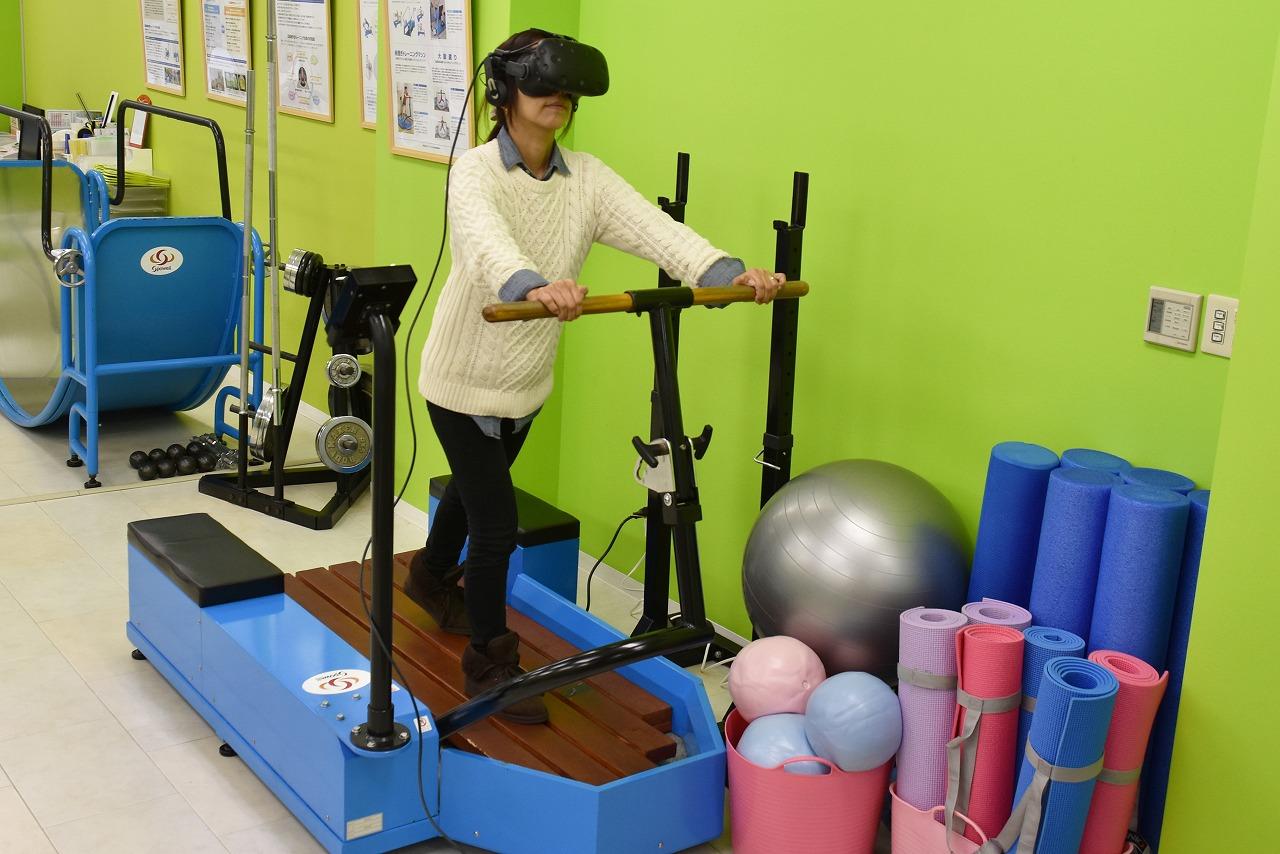 新体験!?VR(バーチャルリアリティ)×健康づくり