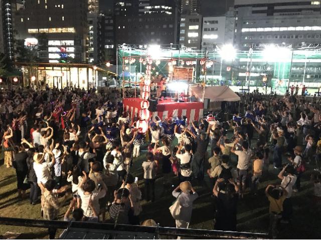 今年も開催!「てんしば盆踊り2018」・大阪市