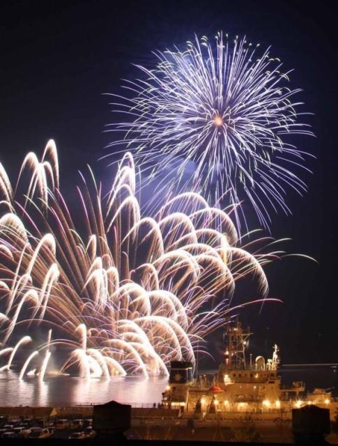 海上花火ウキウキな夏「海の日協賛・みすみ港祭り」・宇城市