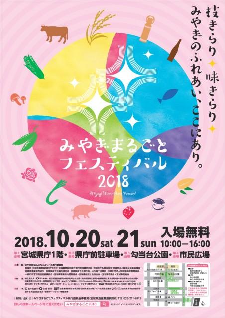 家族みんなで楽しめる「みやぎまるごとフェスティバル2018」・宮城県