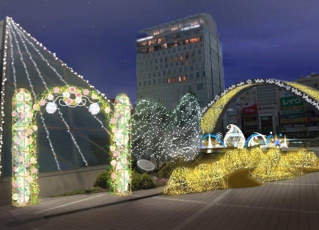 30_イルミパース_光りと花のガーデン
