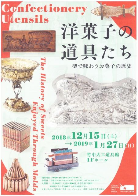 型で味わうお菓子の歴史「洋菓子の道具たち」・神戸市
