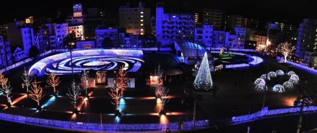鹿児島の冬を彩るイベント「天文館ミリオネーション2019」